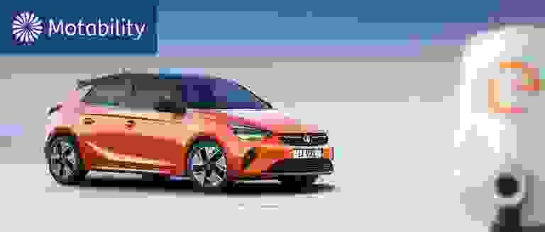 New Vauxhall Corsa-e Motability Offers