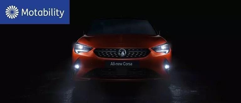 New Vauxhall Corsa Motability Offers