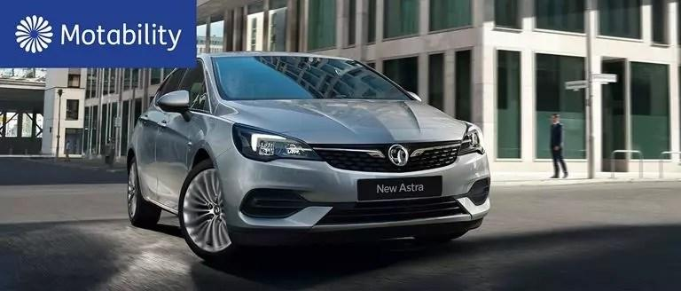 Vauxhall Astra Motability Offers