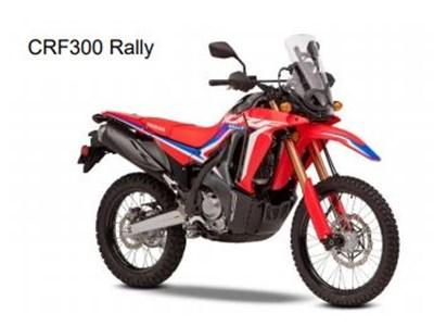 Honda Motorcycles All New CRF300L and CRF300 Rally