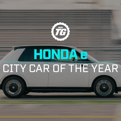 Honda E Wins Top Gear's 2020 City Car Of The Year