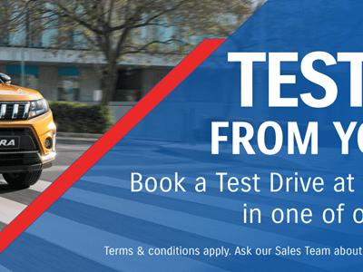 Suzuki Remote Test Drives