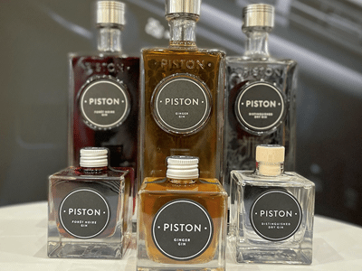 Startin Group's Internal Challenge! Win some delicious Piston Gin!