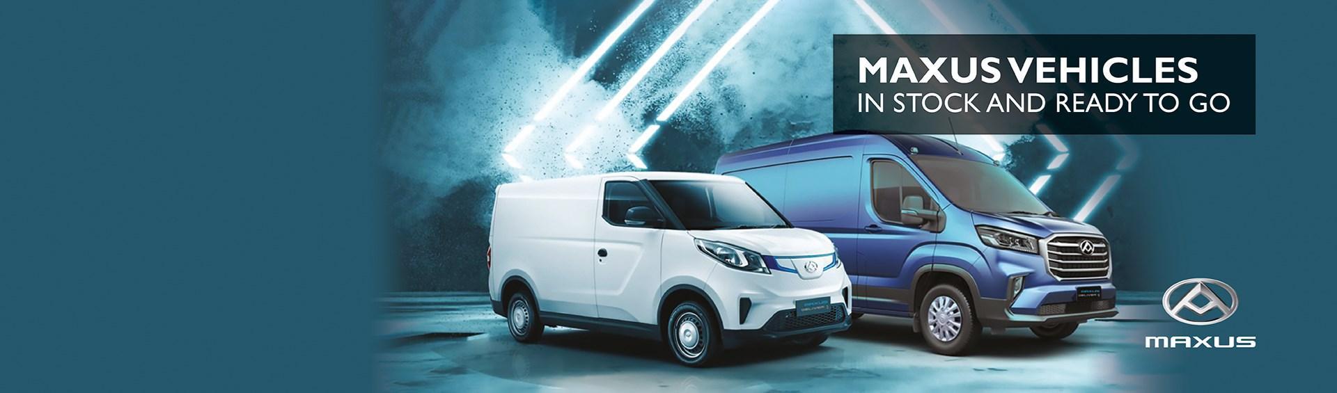 Maxus Vehicles in stock