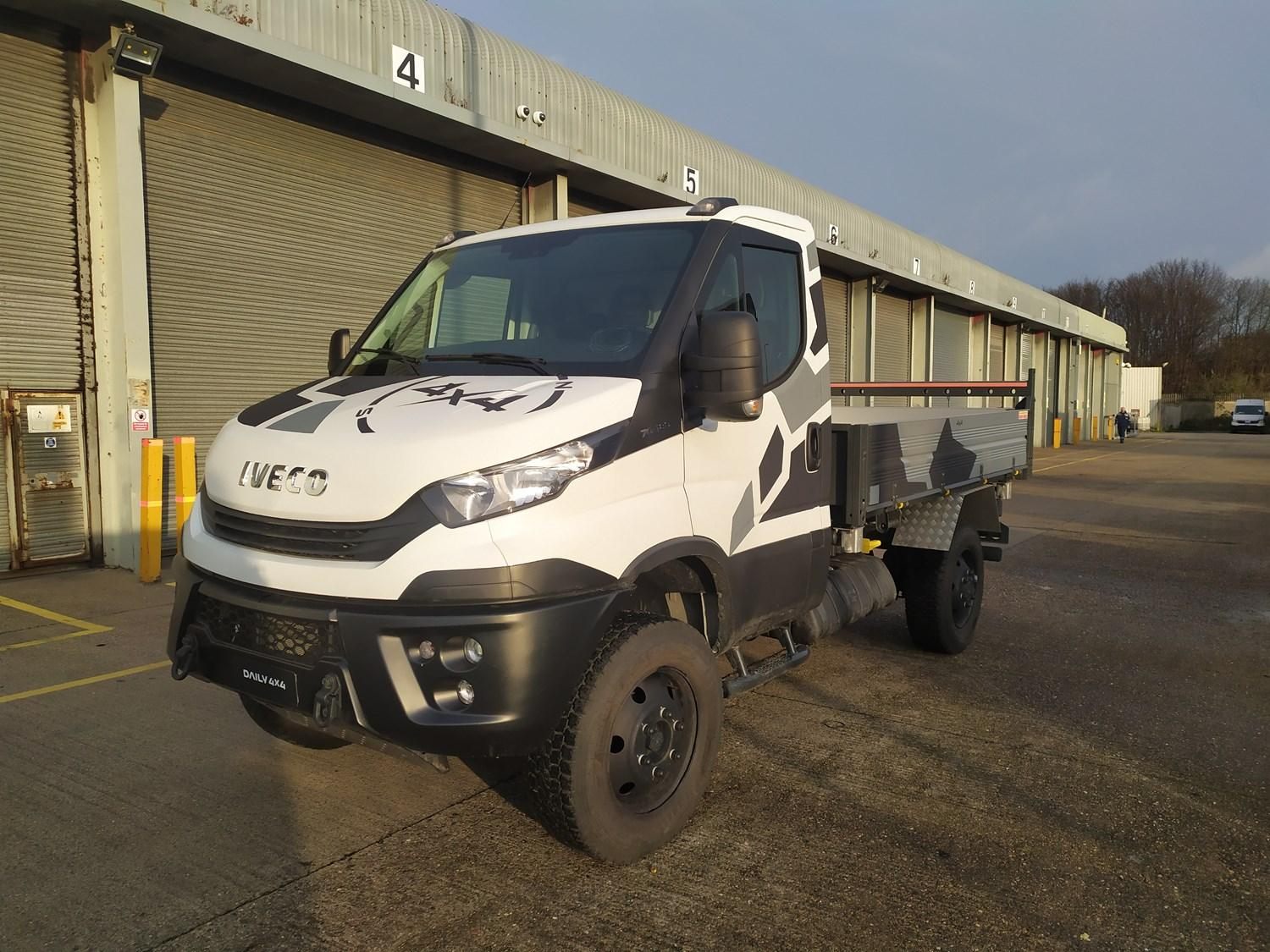 New IVECO Daily 4x4 Tour