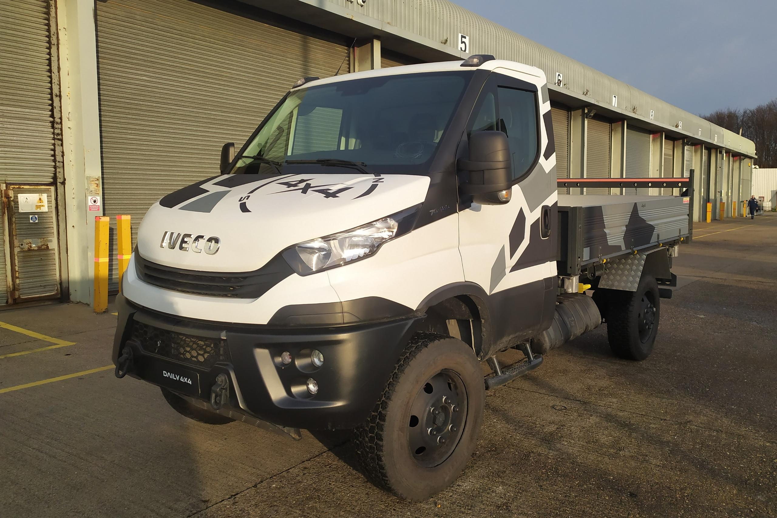 New IVECO Daily 4X4 arrives at NETV in Hull