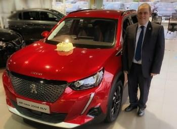 Peugeot Sales Manager Alan has achieved 40 Years working with us