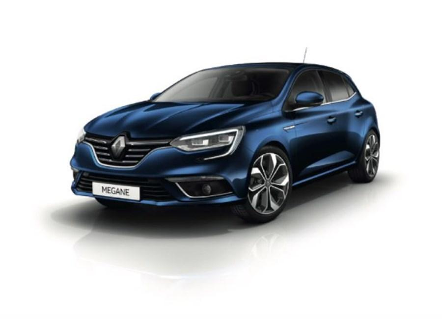 New Renault Megane Sport Tourer and New Renault Megane Sport Tourer