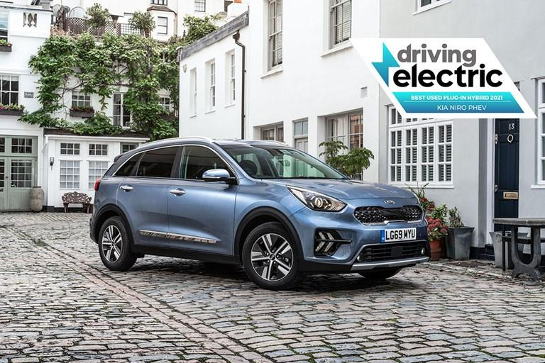 KIA NIRO PLUG-IN HYBRID CONTINUES KIA'S VICTORIOUS FORM AT 2021 DRIVINGELECTRIC AWARDS