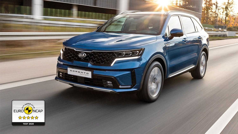 All-New Sorento awarded 5 star Euro NCAP safety rating