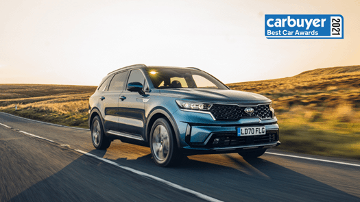 All-new Sorento crowned Carbuyer 'Car of the Year' 2021