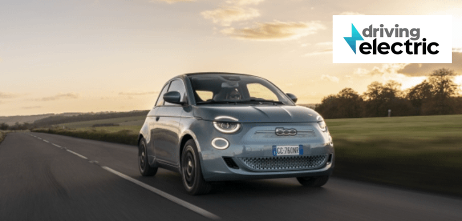 Electric Fiat 500 wins its first award