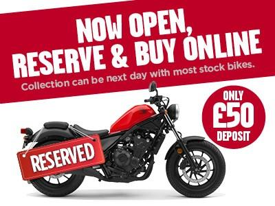 Reserve any John Banks Motorcycle for £50