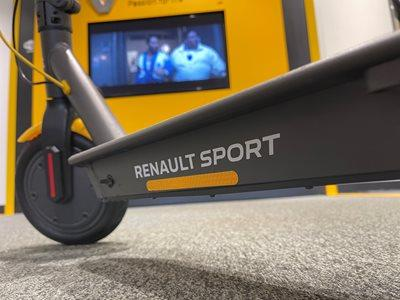 Renault Sport Electric Scooter Leader R.S. - Available at Startin Renault Worcester