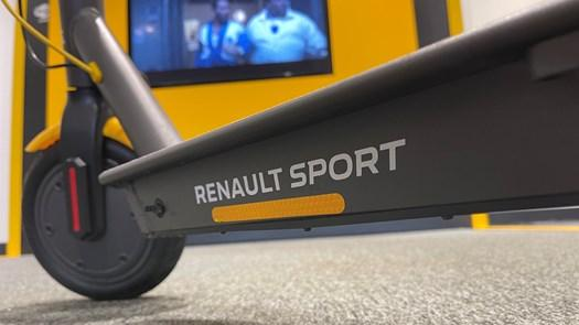 Renault Sport Electric Scooter Leader R.S.  Available at Startin Renault Worcester