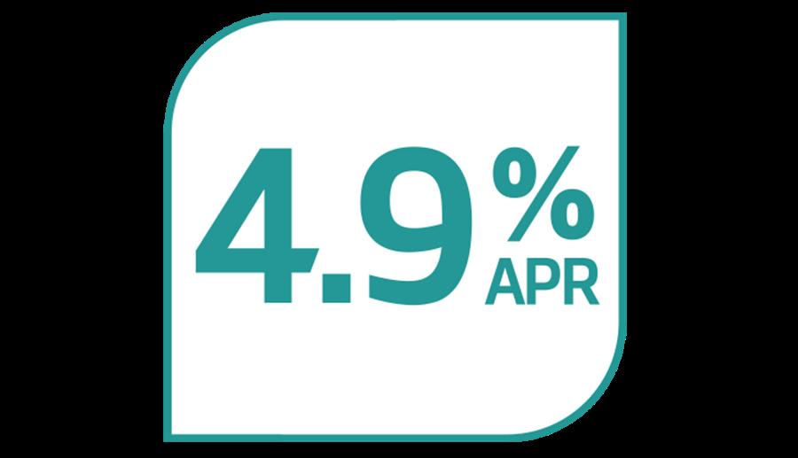 4.9% APR