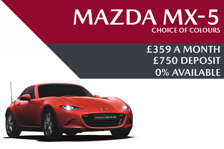 Mazda MX-5 - Now £359 A Month | £750 Deposit And 0% APR Available