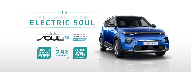 Kia Soul EV with offer