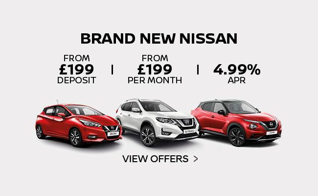 Discover The Latest Nissan offers