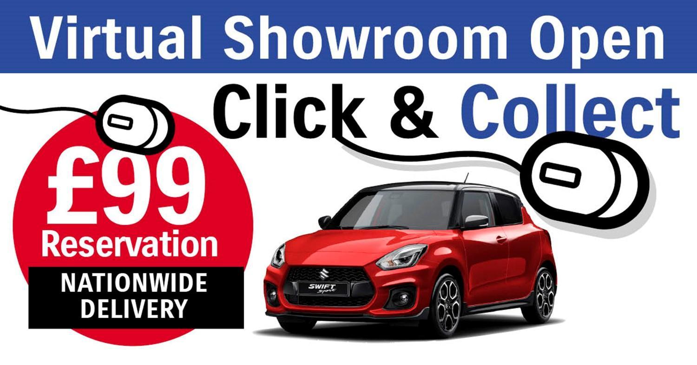 Virtual showroom Suzuki