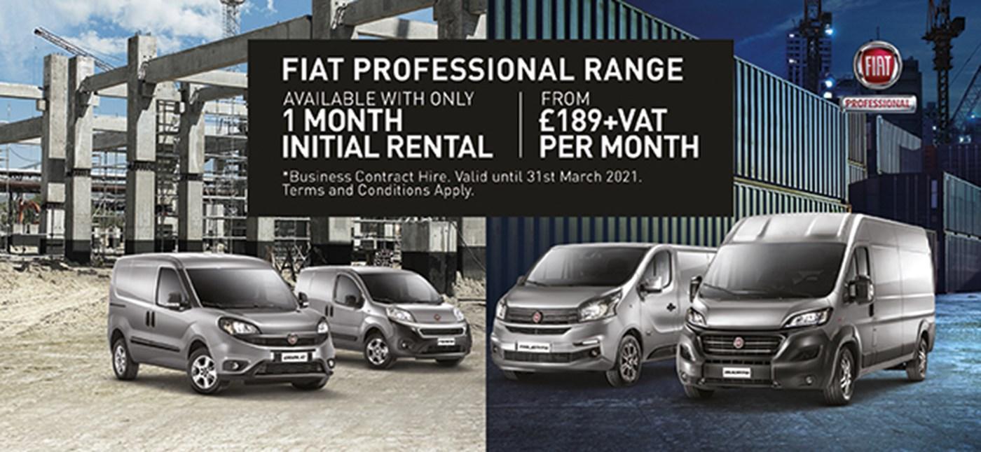 Fiat Professional Range