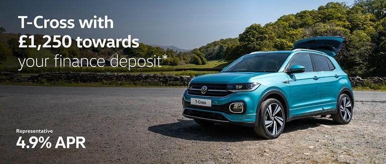 Volkswagen T-Cross Finance Offer