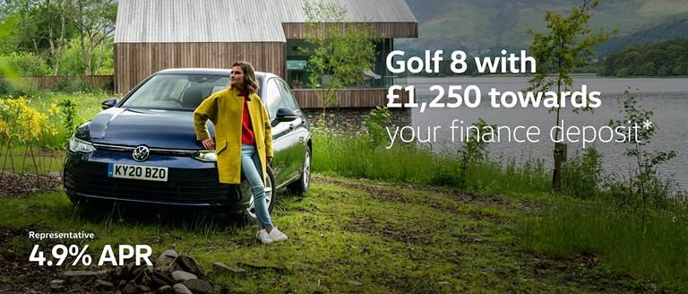Volkswagen Golf 8 Finance Offer