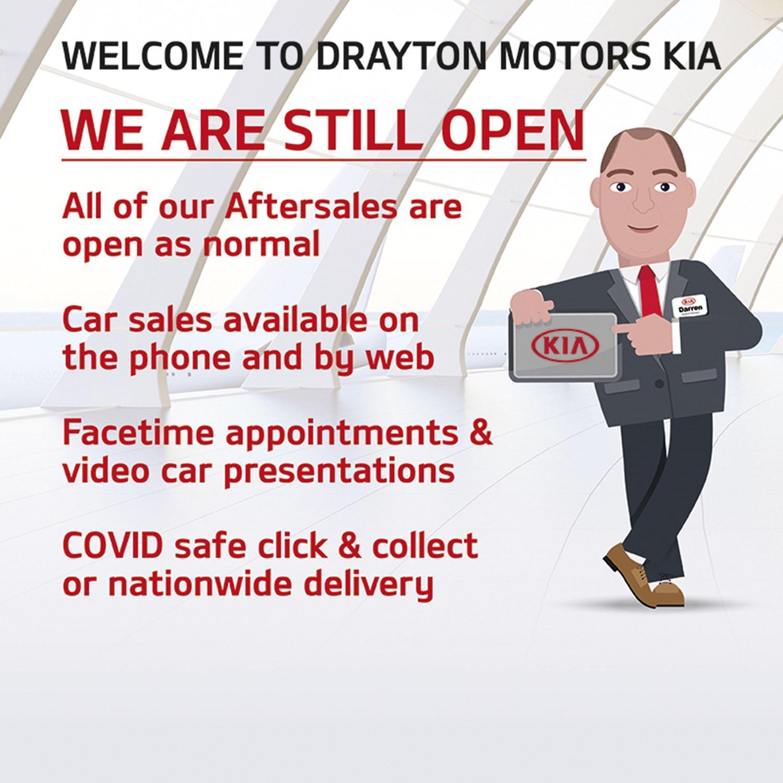 We are still open