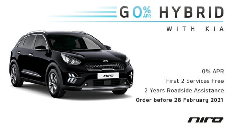 Kia Niro from £219 per month