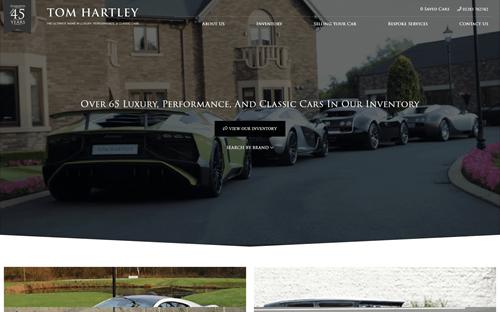 Tom Hartley Website