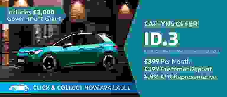 Caffyns Offer - Volkswagen ID.3