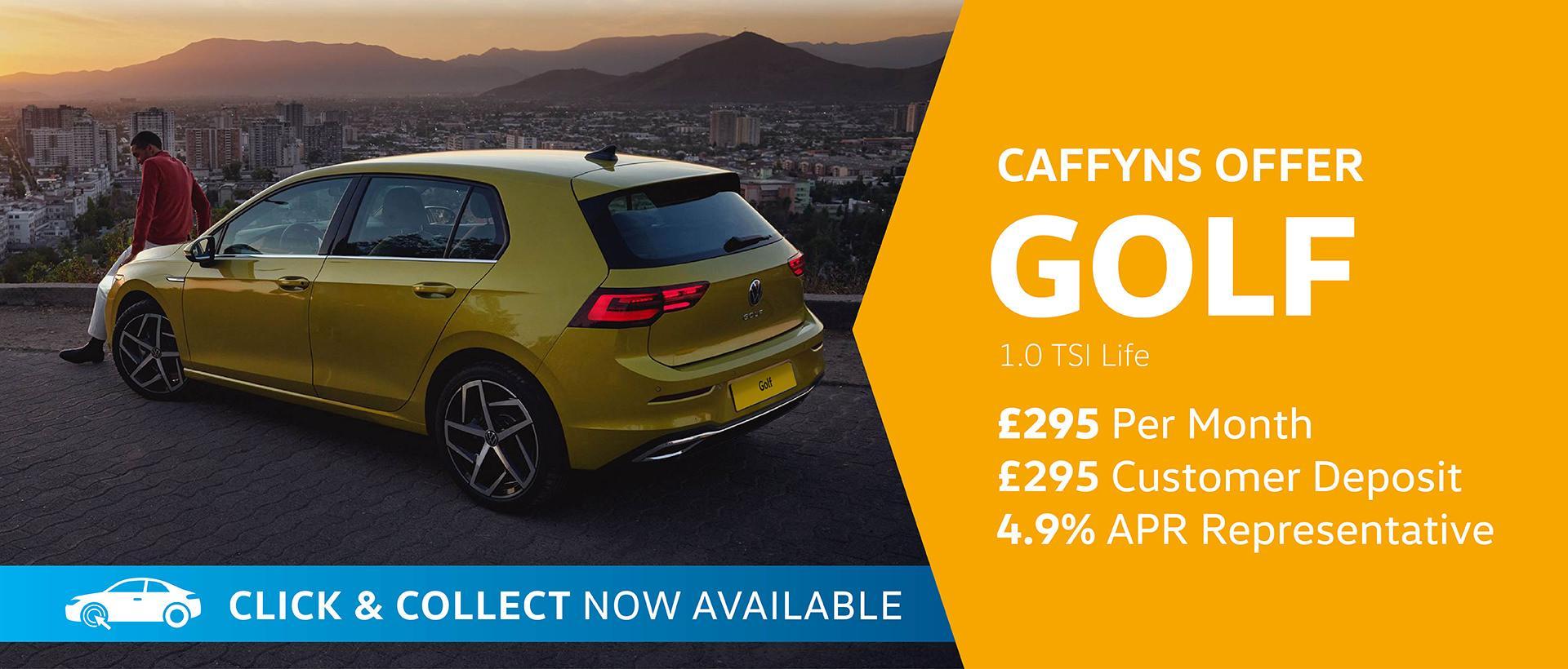 Caffyns Offers - Volkswagen Golf 8 Life