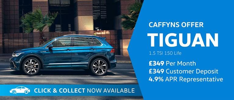 Caffyns Offer - New Volkswagen Tiguan