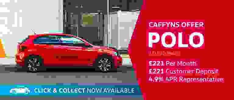 Caffyns Offer - Volkswagen Polo Match