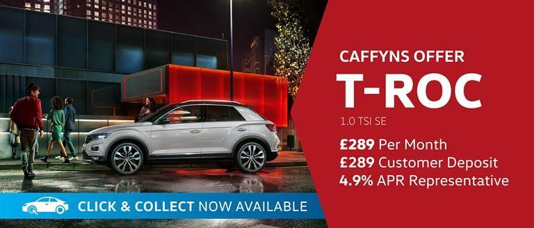 Caffyns Offer - Volkswagen T-Roc SE