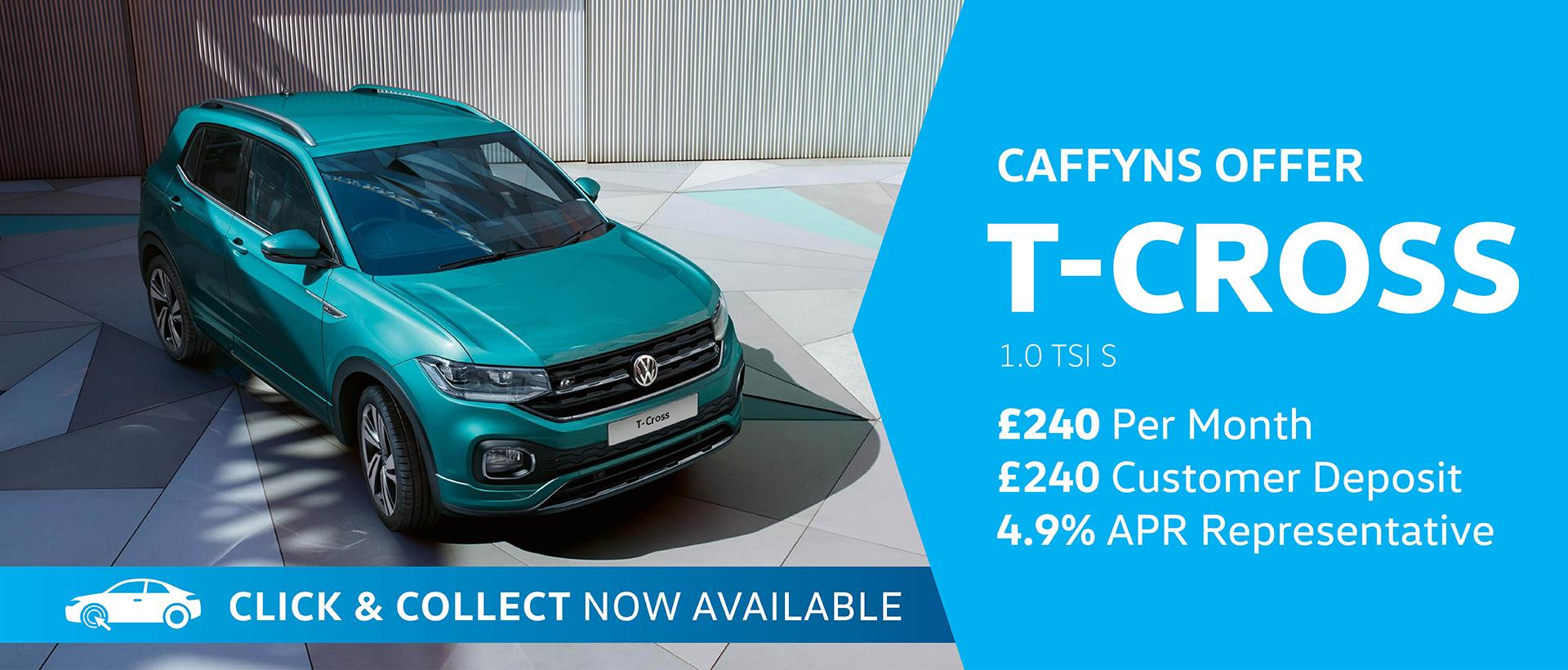 Caffyns Offer - Volkswagen T-Cross