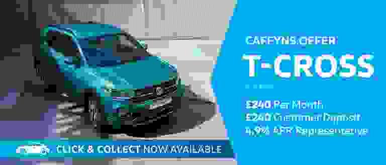 Caffyns Offer - Volkswagen T-Cross