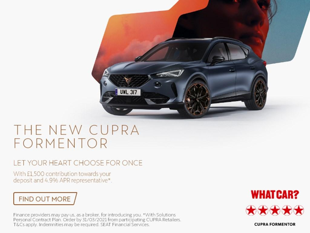Cupra Formentor New Car Offer
