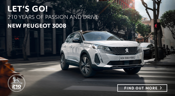 Peugeot 3008 SUV Offer