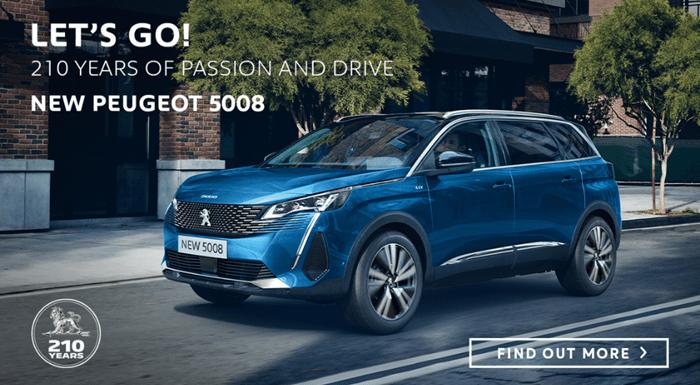 Peugeot 5008 SUV Offer