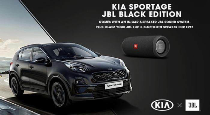 Kia Sportage JBL Edition Offer