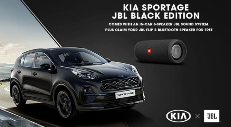 Kia Sportage JBL Edition Offer