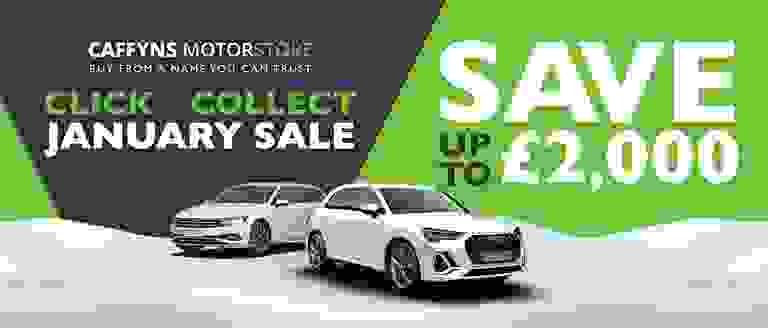 Caffyns Motorstore Click & Collect January Sale