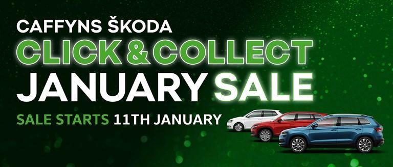 ŠKODA Click & Collect January Sale