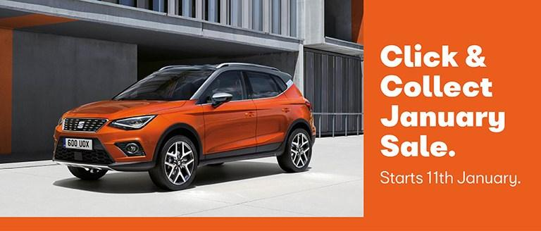 SEAT Click & Collect January Sale