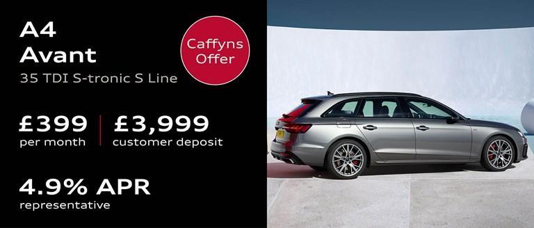 Caffyns Offer - Audi A4 Avant Finance Offer