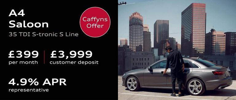 Caffyns Offer - Audi A4 Saloon Finance Offer
