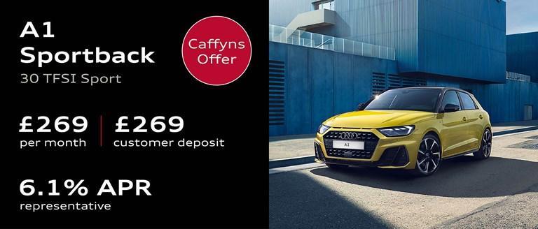 Caffyns Offer - Audi A1 Sportback Finance Offer