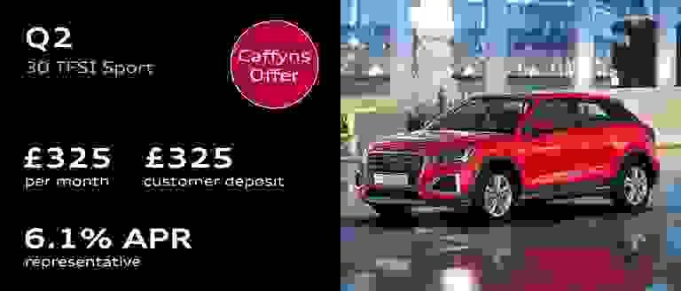 Caffyns Offer - New Audi Q2 Finance Offer