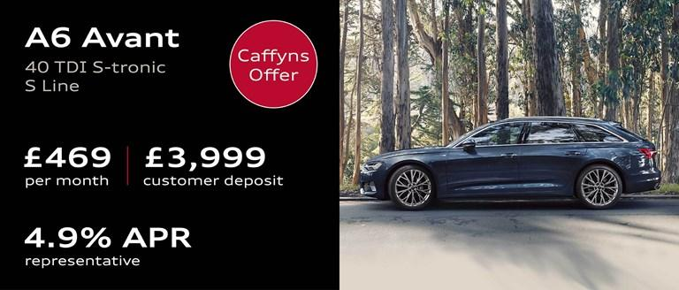 Caffyns Offer - Audi A6 Avant Finance Offer